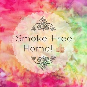 All items come from a smoke free, pet free home.